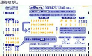 青のカード