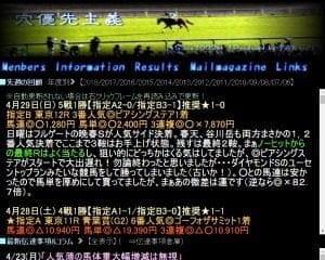 穴優先主義は当たる競馬予想サイトか?口コミから検証!