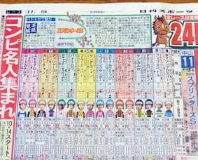 日刊スポーツ 予想