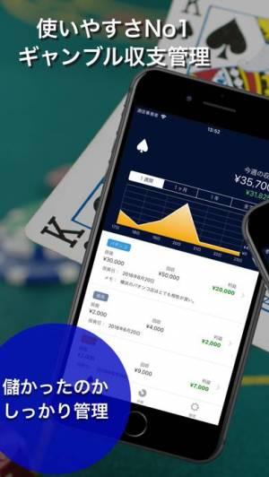 ギャンブル収支管理アプリ Spade