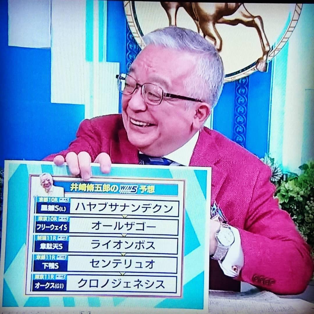 井崎脩五郎 競馬番組