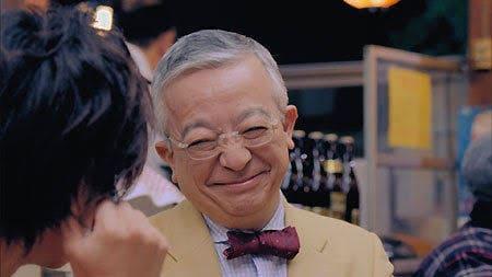 井崎脩五郎 笑顔