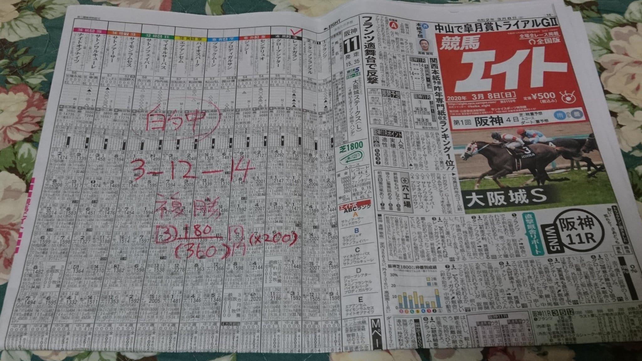 競馬エイト 新聞