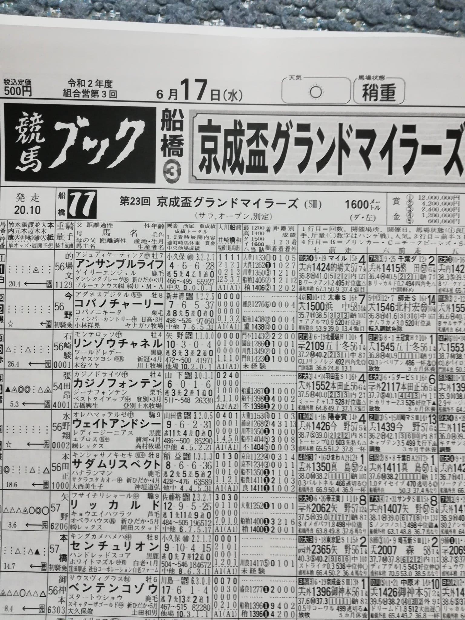 競馬ブック 新聞
