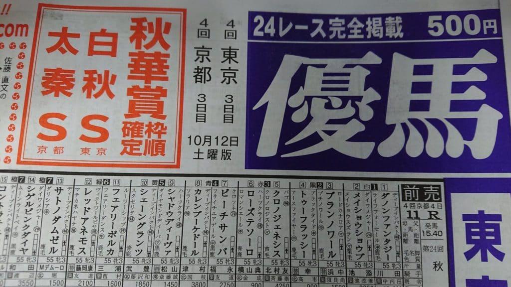 優馬 競馬新聞