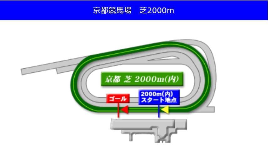 京都競馬場芝2000mの予想ポイント