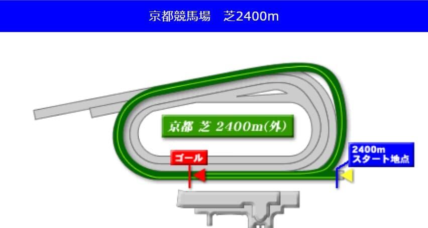 京都競馬場芝2400mの予想ポイント
