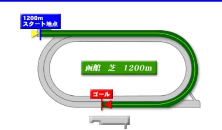 函館競馬場芝1200mの予想ポイント