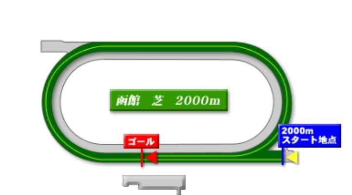 函館競馬場芝2000mの予想ポイント