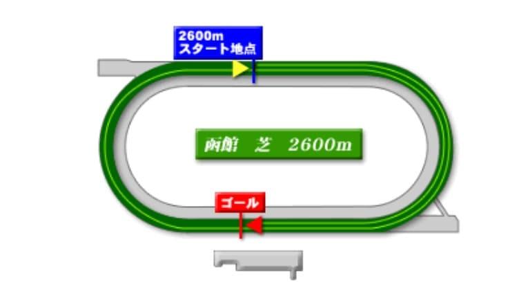 函館競馬場芝2600mの予想ポイント