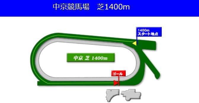 中京競馬場芝1400mの予想ポイント