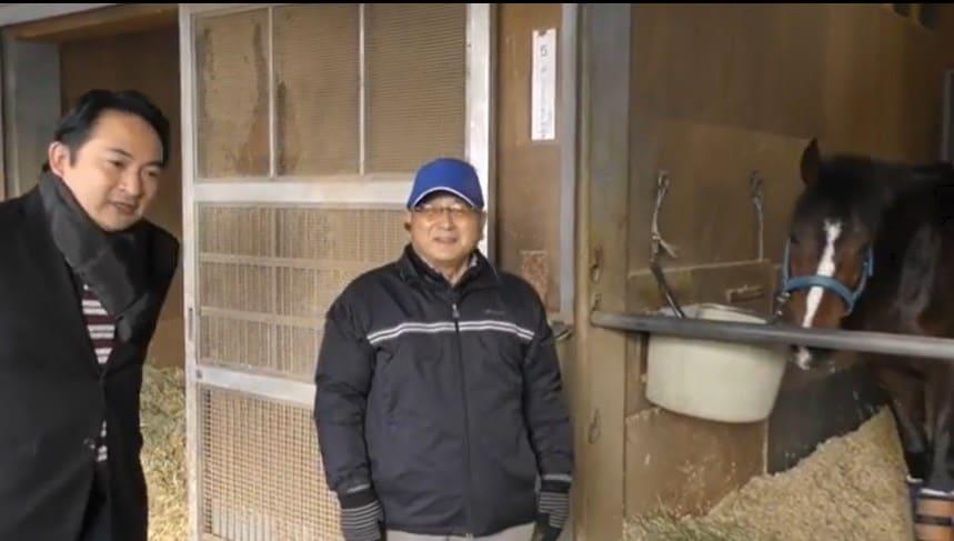 yahoo競馬の調教師動画