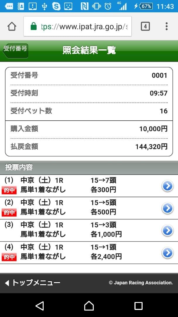 中京競馬 スマートフォン