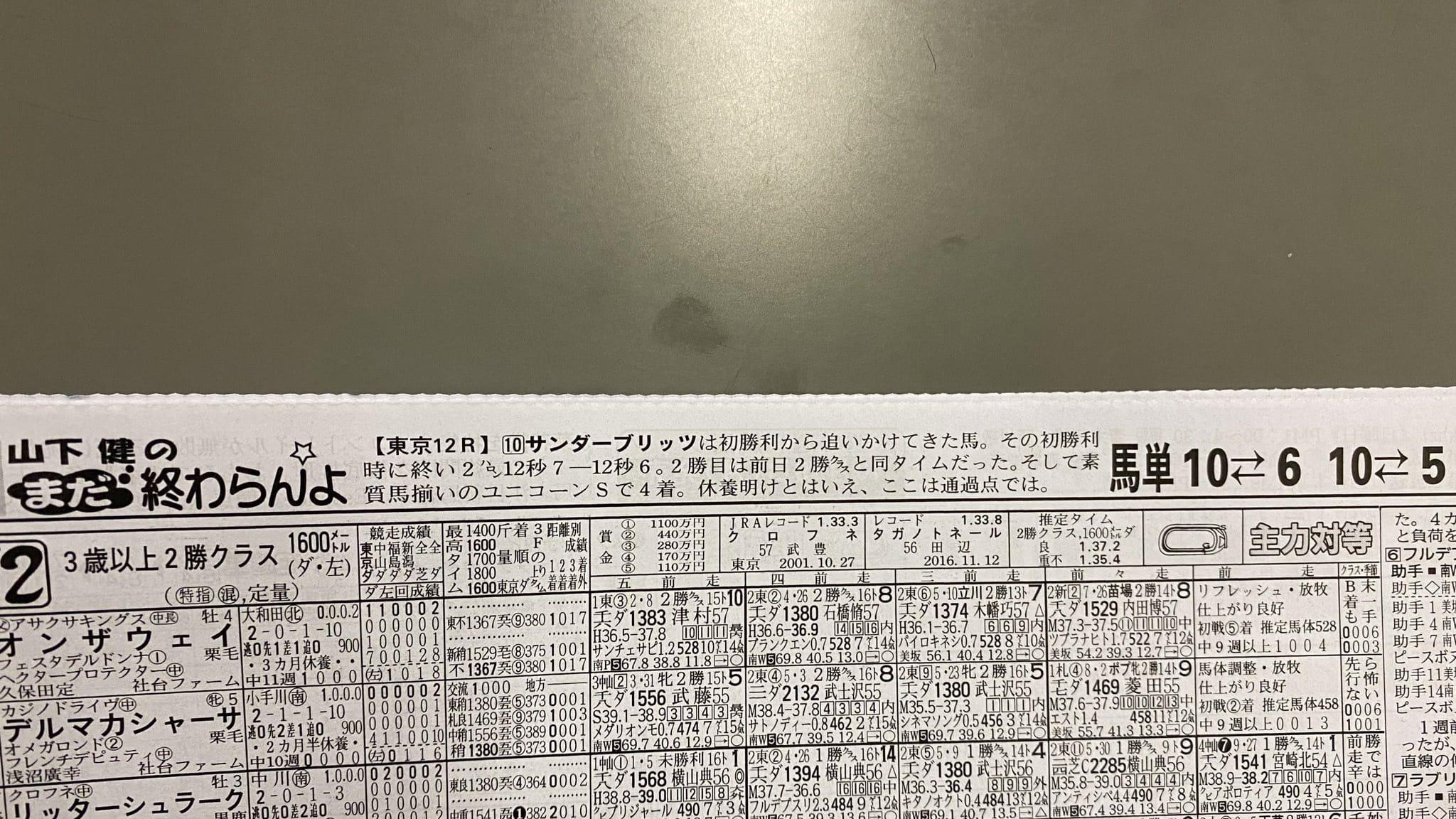 競馬ブック 競馬新聞