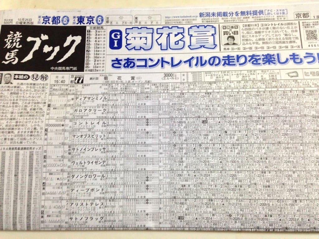 菊花賞 競馬ブック