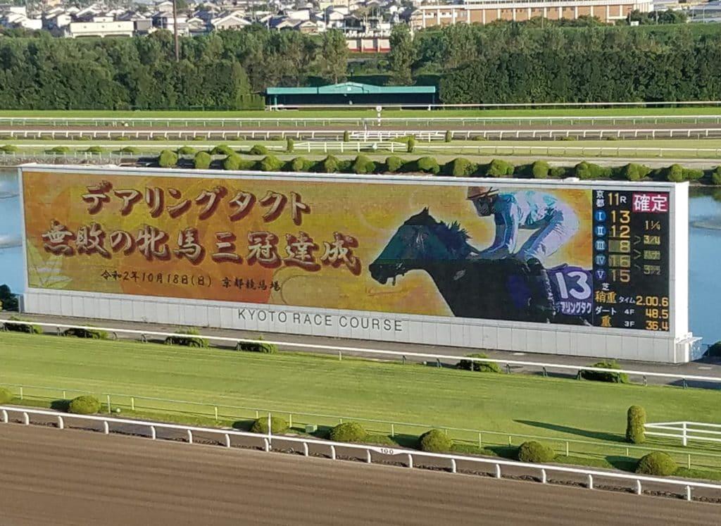 京都競馬 ターフビジョン