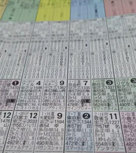 スポニチの競馬新聞の特徴と見方