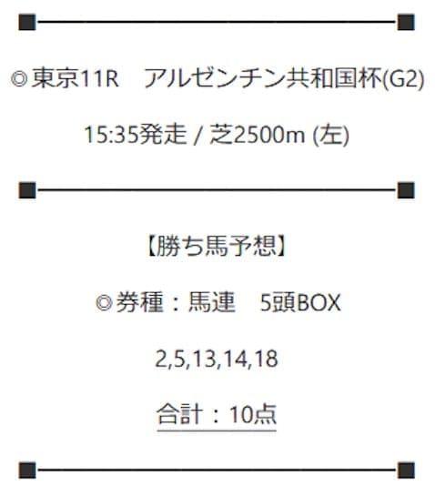 2020年11月8日東京11R