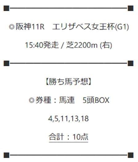 2020年11月15日阪神11R