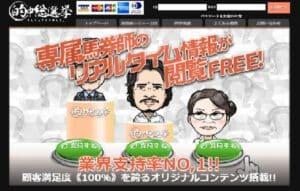 的中総選挙は当たる競馬予想サイトか?口コミから検証!