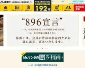 暴露王(896)は当たる競馬予想サイトか?口コミから検証!