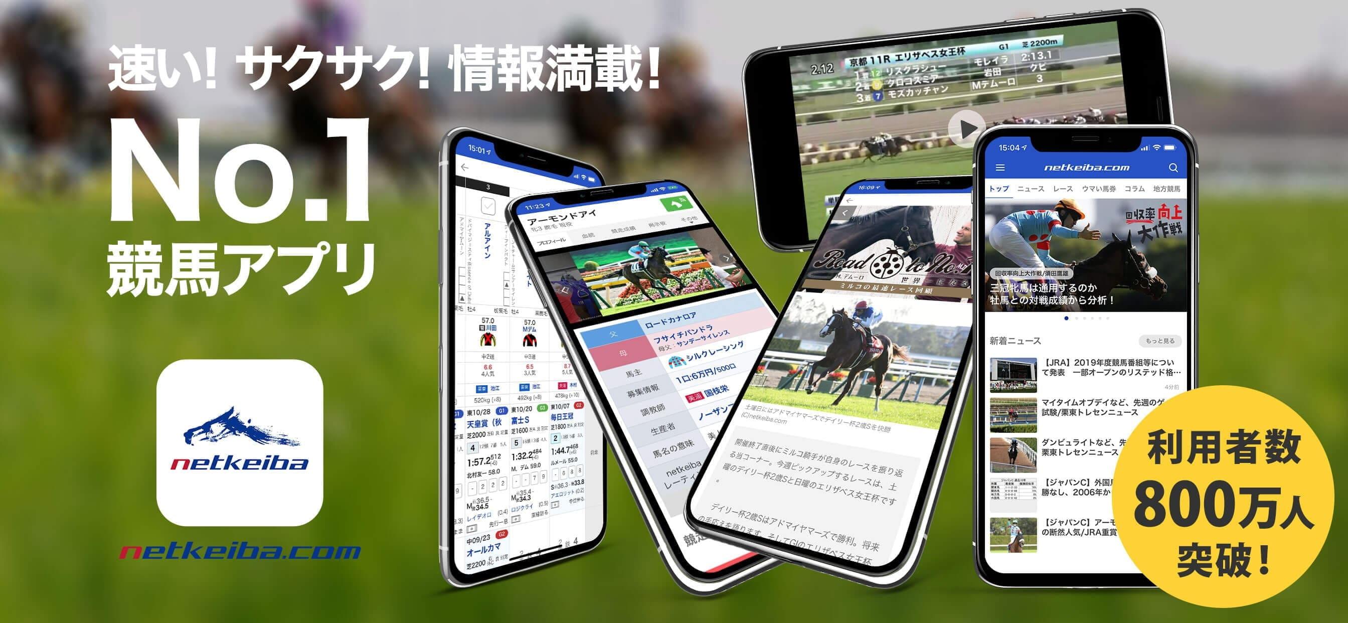 netkeiba.com アプリ