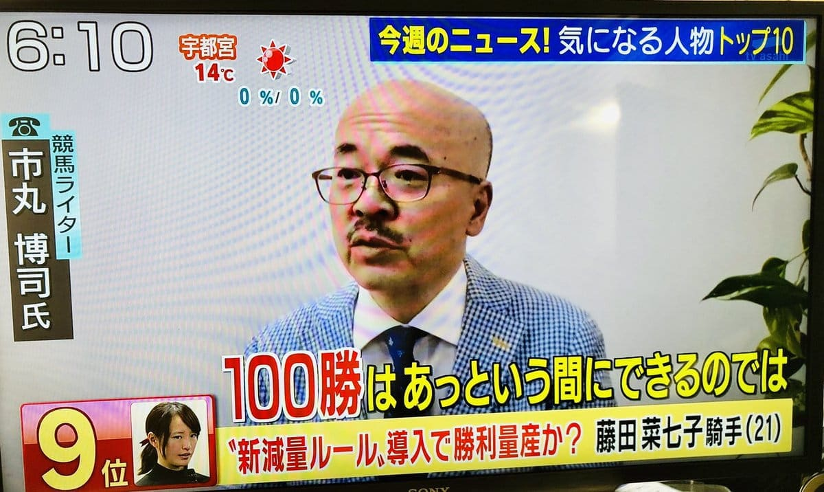 市丸博司 テレビ番組