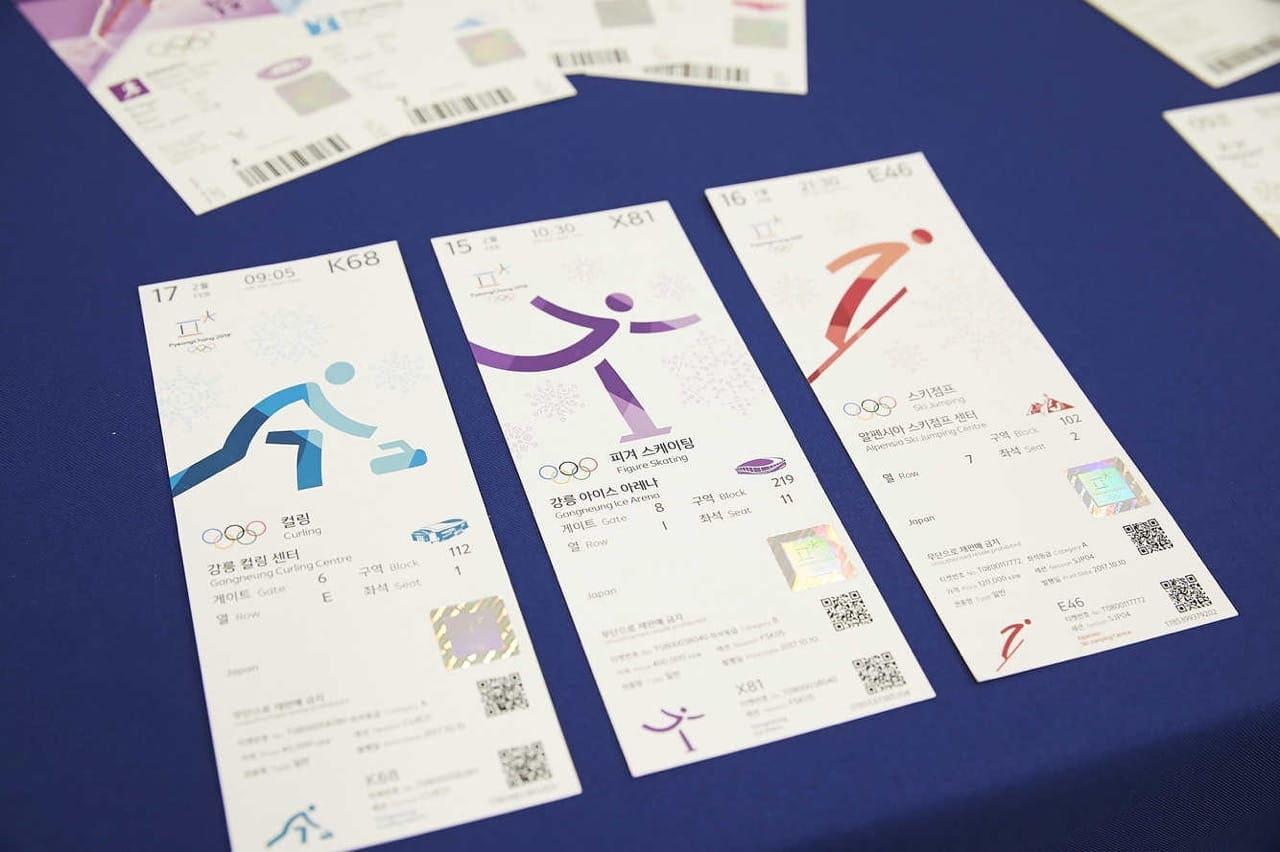 オリンピック チケット